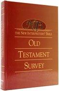 New Interpreter's Bible Old Testament Survey