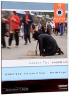 Season Two Episodes 1-13 (Participant's Guide) (Faith Cafe Series) Paperback