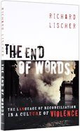 The End of Words Paperback
