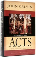 Sermon on the Acts of the Apostles Hardback