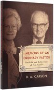 Memoirs of An Ordinary Pastor Paperback