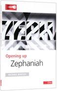 Zephaniah (Opening Up Series) Paperback