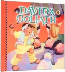 David & Goliath Story Book