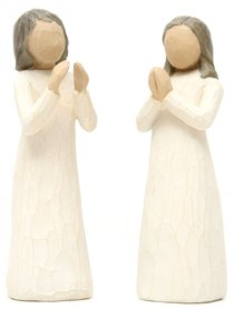 Willow Tree Figurine: Sisters By the Heart