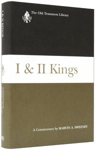 First and Second Kings (Old Testament Library Series)