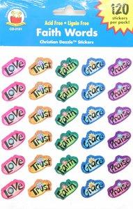 Sticker Pack: Faith Words