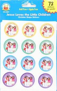 Sticker Pack: Jesus Loves the Little Children
