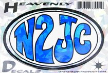 Heavenly Decal Mini Sticker: N2Jc