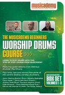 Musicademy: Beginner's Worship Drums Box Set (3 DVD Set)