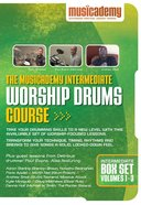 Musicademy: Intermediate Worship Drums Box Set (3 DVD Set) DVD