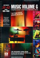 Rcm Volume G Music Book (Supp 38-42)