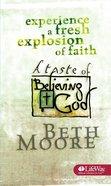 A Taste of Believing God Booklet