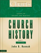 Charts of Ancient and Medieval Church History (Zondervan Charts Series)