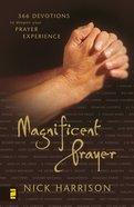 Magnificent Prayer Paperback