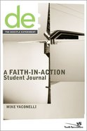 The Disciple Experiment (Student Journal) Paperback