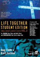 Leader's Guide DVD Volume 3 (Life Together Student Series) DVD