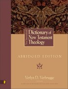 New International Dictionary of New Testament Theology eBook