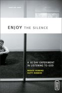 Enjoy the Silence Paperback