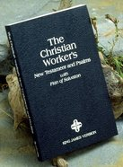 KJV Christian Worker New Testament & Psalms