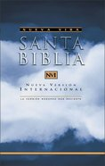 Biblia Nueva Version Internacional Nvi Spanish Nvi Bible Paperback
