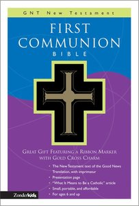 GNB Childrens First Communion New Testament With Psalms & Proverbs Compact Black