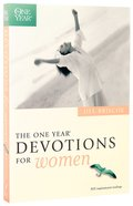 The One Year Book of Devotions For Women Paperback
