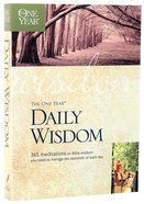 The One Year Book of Daily Wisdom Paperback