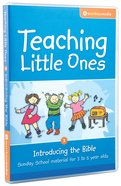 Teaching Little Ones #03: Introducing the Bible CDROM (3-5 Years) (#03 in Teaching Little Ones Sunday School Lessons Series) Cd-rom