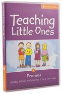 Teaching Little Ones #04: Promises CDROM (5-8 Years) (#04 in Teaching Little Ones Sunday School Lessons Series) Cd-rom