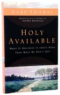 Holy Available Paperback