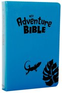 NIV Adventure Bible Iguana Blue Imitation Leather
