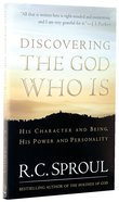 Discovering the God Who is Paperback