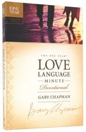 The One Year Love Language Minute Devotional Paperback