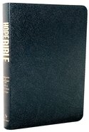 NLT Osteen Hope For Today Bible Black Bonded Leather Bonded Leather