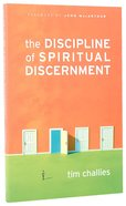 The Discipline of Spiritual Discernment Paperback