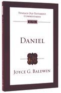 Daniel (Re-Formatted) (Tyndale Old Testament Commentary Re-issued/revised Series) Pb Large Format