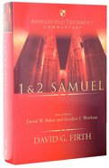1 & 2 Samuel (Apollos Old Testament Commentary Series) Hardback