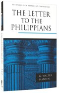 The Letter to the Philippians (Pillar New Testament Commentary Series) Hardback