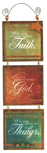 Youre My Star 3 Tier Mdf Plaque: Faith, God, Things