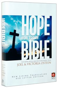 NLT Osteen Hope For Today Bible