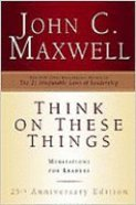 Think on These Things: Meditations For Leaders Hardback