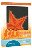 NIV Backpack Galaxy Gray Duo-Tone Bible Imitation Leather