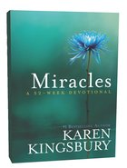 Miracles: 52 Week Devotional Hardback