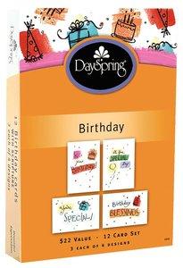 Boxed Cards Birthday: Birthday Fun