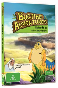 A Lot to Swallow (#06 in Bugtime Adventures Series)