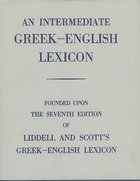Intermediate Greek English Lexicon Dictionary