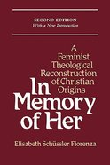In Memory of Her (2nd Edition) Paperback
