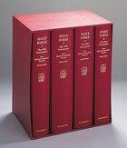 NRSV Giant Print Burgundy (4 Vol Set)