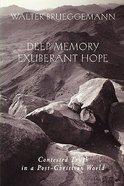 Deep Memory, Exuberant Hope Paperback