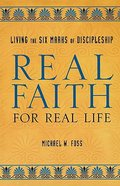 Real Faith For Real Life Paperback